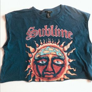 Sublime Crop Muscle Tank